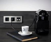 Hager lance gallery, nouvelle gamme d'interrupteurs et prises pour les hôtels