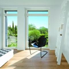 Fenêtre et porte-fenêtre extérieur alu et intérieur alu