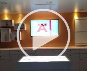 Le bus LOOX, un showroom mobile pour l'éclairage LED