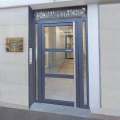 Porte lourde en aluminium grand trafic 70 mm