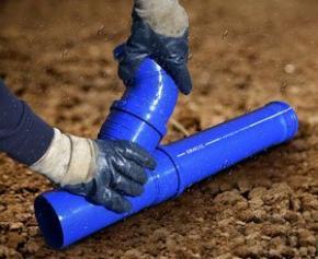 Tubes et raccords SANCOL diamètre 100 à joint pour l'évacuation des eaux usées ou pluviales