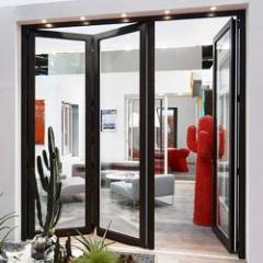 Porte repliable aluminium