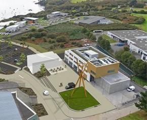 Aménagement d'un Cœur de Campus Place Copernic – Dernière phase de travaux