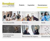 Ecophon ajoute à son site internet une nouvelle rubrique pour tout connaitre sur le bruit