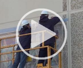 La solution d'isolation de façades amiantées Myral testée en conditions réelles