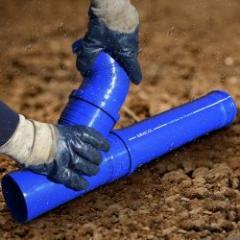 Solution pour le raccordement des tubes d'évacuation à joint