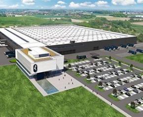 Nouveau centre de distribution européen Van Marcke à Courtrai