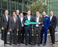 Remise officielle des clés de la Smart Factory au WiloPark de Dortmund