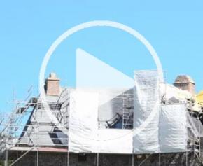 Charpentier - Travaux de restauration au château de Carrouges