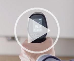 Bosch présente: UniversalTemp - Le thermomètre infrarouge pratique pour un usage au quotidien