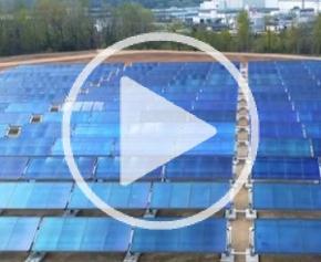 La plus grande centrale solaire thermique de France