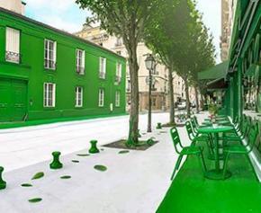 Durieu rafraichit Paris avec sa peinture isolante ThermaCote®