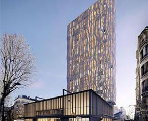 Franck Riester contre un projet de tour sur la Maison du Peuple à Clichy