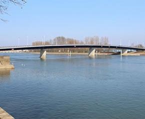 Un futur Pont Jacques Chirac sur la Saône