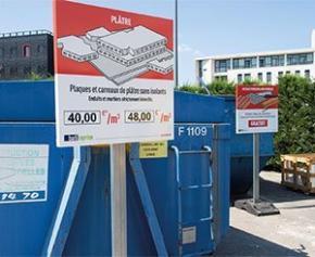 POINT.P & SUEZ lancent batireprise, pour récupérer les déchets de chantier