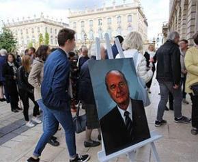 """Nancy baptise un espace vert """"Promenade Jacques-Chirac"""""""