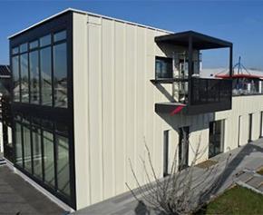 Le système constructif innovant Wall E+ testé avec succès dans le bâtiment...