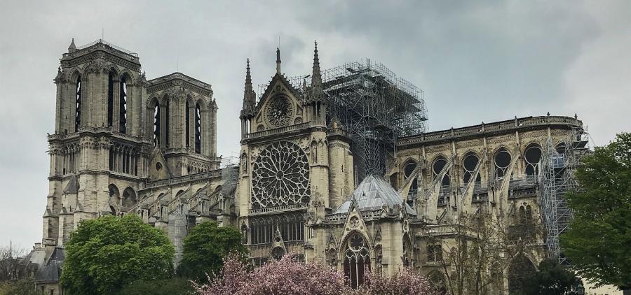 Notre-Dame n'est toujours pas définitivement sauvée six mois après l'incendie