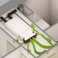 Centrale de ventilation double-flux