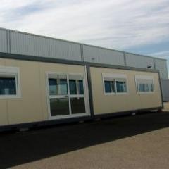 Bâtiment modulaire d'occasion pour un usage de bureaux