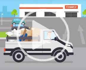 Lancement de batireprise, service de reprise de déchets (POINT.P & SUEZ)
