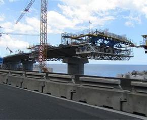 La Nouvelle Route du Littoral à La Réunion sera terminée dans les meilleurs délais...