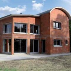 Pack maison individuelle pour une façade 100 % terre cuite