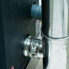 Conduit de fumée inox concentrique pour appareils granulés