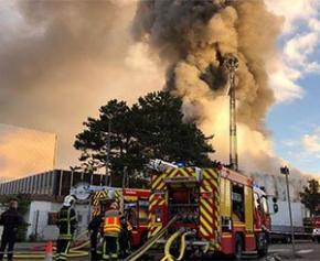 Un incubateur de start-up à Villeurbanne, ravagé par un incendie, va être reconstruit