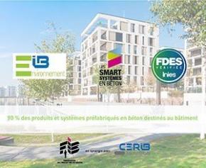 90% des produits en béton pour le bâtiment disposent d'une FDES collective
