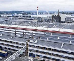 PSA Sochaux va se couvrir de milliers de panneaux solaires