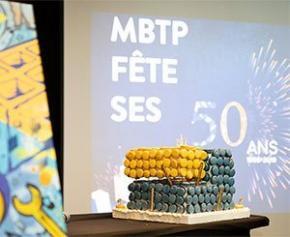 MBTP, la mutuelle du Bâtiment et des TP, fête son 50e anniversaire