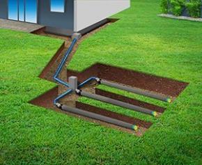 Vous construisez ? Comment gérer les eaux dans le sol via le drainage, l'évacuation et l'infiltration