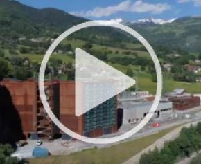 La construction d'une nouvelle centrale hydraulique de la Coche