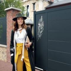 Concept innovant de personnalisation et d'harmonisation de portail, clôture et garde-corps