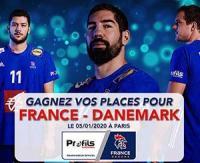 Jeu-concours Profils Systèmes : Gagnez vos places pour le match de Handball FRANCE - DANEMARK