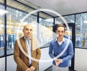 Visite du site de fabrication de Dirickx en réalité virtuelle