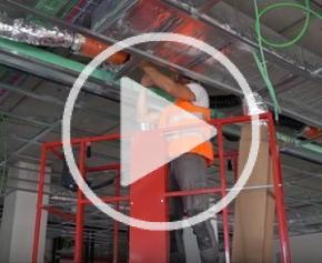Nacelle à mât vertical électrique