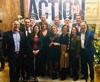Les hommes et les femmes de l'équipe commerciale URSA, lauréats des Trophées Action Co 2019