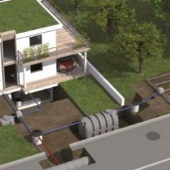 Postes de relevage pour les eaux usées ou chargées des maisons individuelles ou des petites collectivités