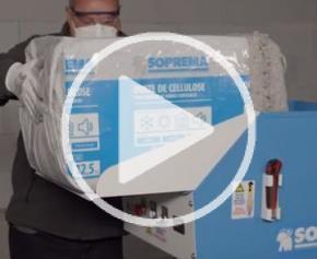 Comment utiliser la cardeuse Soprema pour souffler la ouate de cellulose