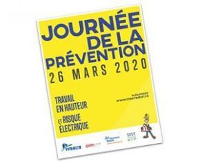 Journée de la Prévention 2020 : focus sur le travail en hauteur et sur le risque...