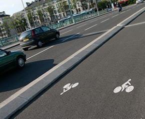 Le nombre de pistes cyclables progresse dans plusieurs villes, dont Paris