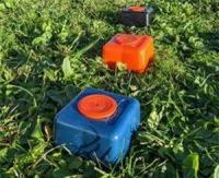 La première borne de géomètre en plastique recyclé