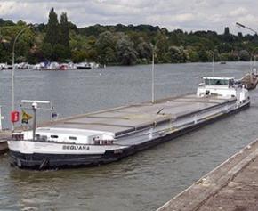 Le secteur de la construction reste le principal utilisateur du transport fluvial en 2019