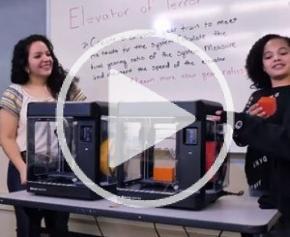 Présentation de l'imprimante 3D MakerBot Sketch spéciale éducation