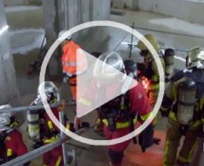 Tout ce que vous avez toujours voulu savoir sur... Les exercices incendie en souterrain