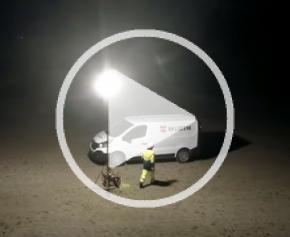Lampe de travail WGL1 180/360° 40.000 Lumens