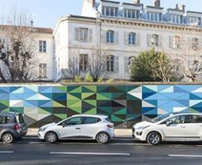 L'industrie de la façade au service de l'art dans la ville