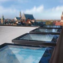 Fenêtre plane épurée et contemporaine pour toits plats